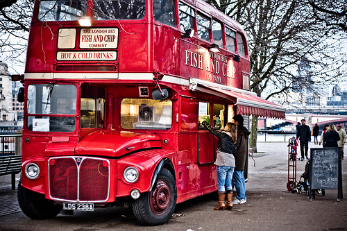 The Fish And Chip Bus