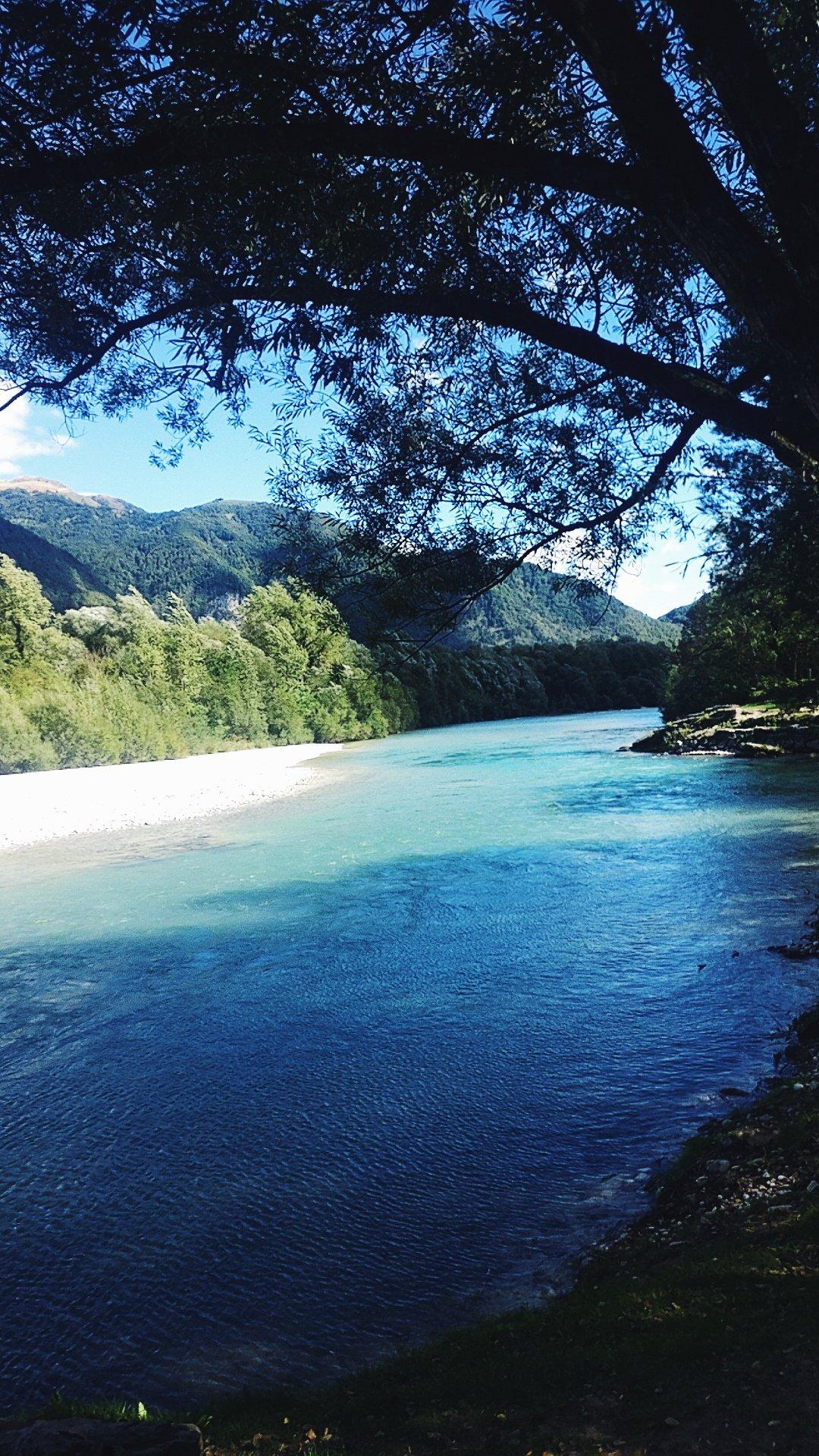 Soča river in Tolmin