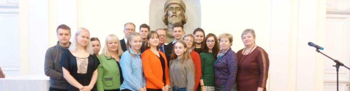 Vieraanvaraisuutta vastavierailulla Jaroslavlissa Venäjällä
