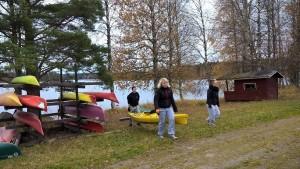 milla ja kanootit
