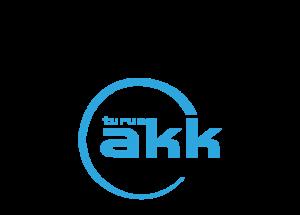 Gradian ja Turun AKK:n logot allekkain