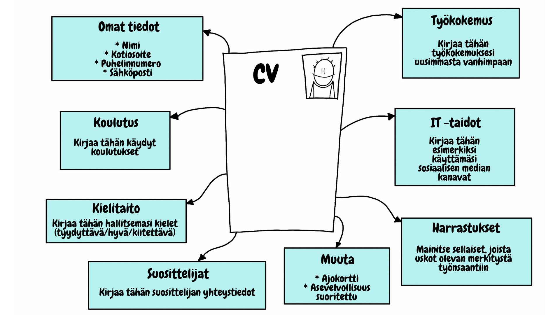 CV ansioluttelo